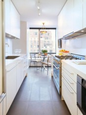 A Long Galley Kitchen Design