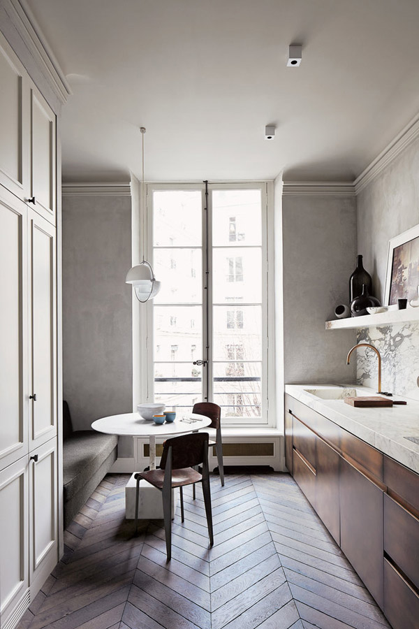 Picture Of stylish and functional narrow kitchen design ideas  4