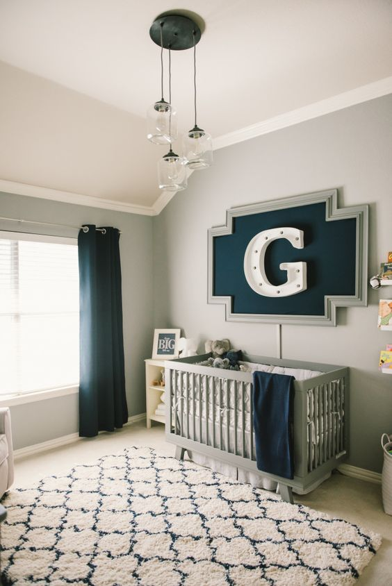 Picture Of stylish and inspiring boy nursery designs to try  1