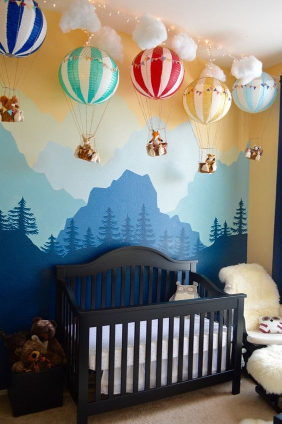Picture Of stylish and inspiring boy nursery designs to try  10