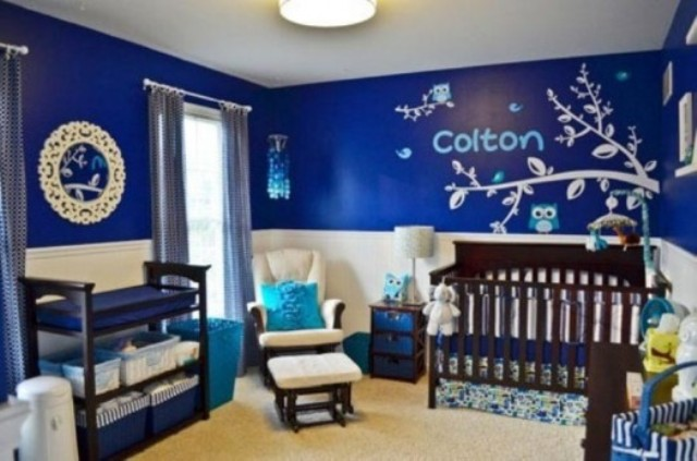 Picture Of stylish and inspiring boy nursery designs to try  23