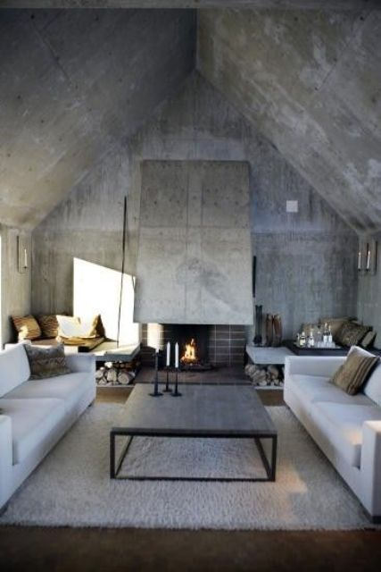 stylish and inspiring industrial living room designs - Industrial Living Room
