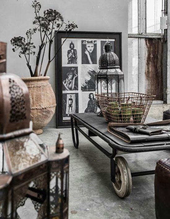 30 stylish and inspiring industrial living room designs for Living room designs for bachelors
