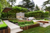 Stylish And Modern Garden And Terrace Design By Nathan Burkett