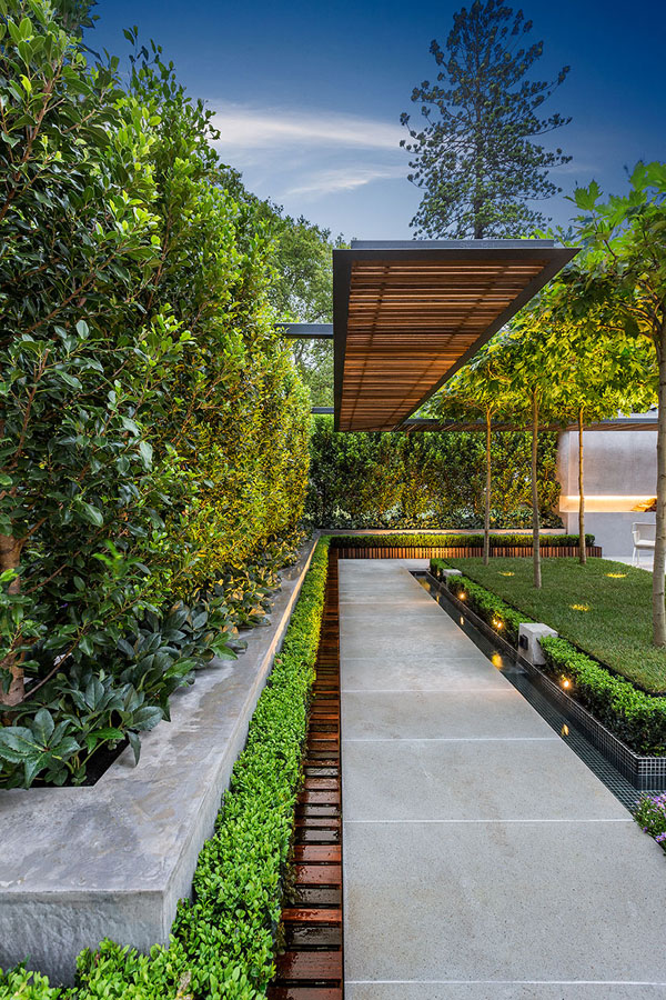Picture of stylish and modern garden and terrace design by for Landscape design melbourne