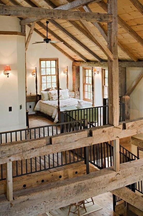 Gray Bedroom Design Ideas: 36 Stylish And Original Barn Bedroom Design Ideas