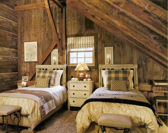 36 Stylish And Original Barn Bedroom Design Ideas - DigsDigs