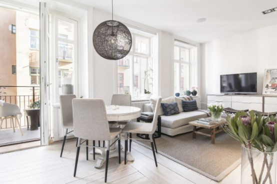 Scandinavian Apartments Stylish And Peaceful Small Scandinavian Apartment  Digsdigs
