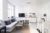 Stylish And Peaceful Small Scandinavian Apartment