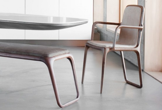 Stylish And Sculptural Furniture Collection From Noé Duchaufour-Lawrance
