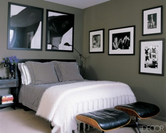 Wall Decor For Masculine Bedroom : Stylish and sexy masculine bedroom design ideas digsdigs