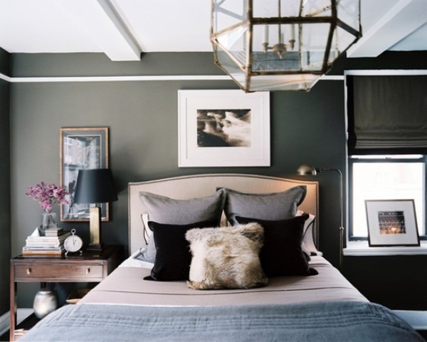 Bedroom Ideas with Gray Walls 600 x 480