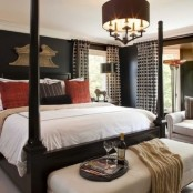 Stylish And Sexy Masculine Bedrooms