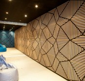 catchy soundproofing panels cover the whole space and make it totally soundproofed