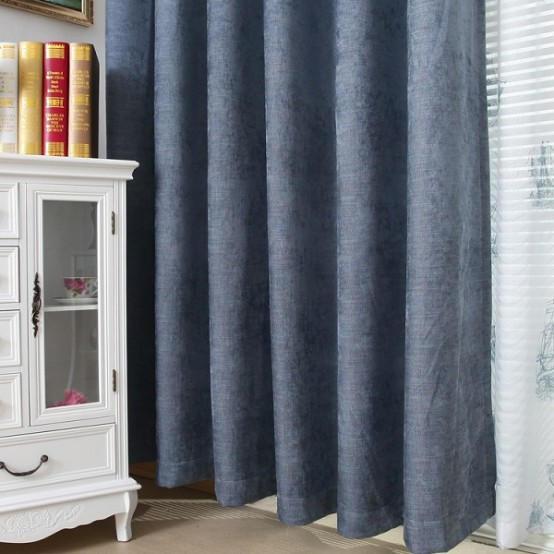 thick curtains are a great sound-proofing idea for windows if the noise comes from there
