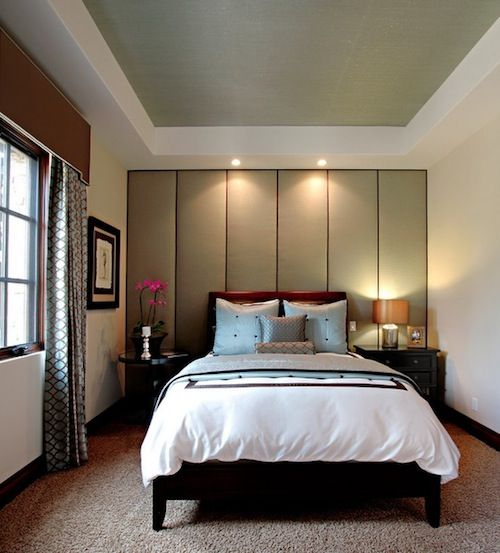 34 stylish and smart ideas for soundproofing at home for Bedroom wall images