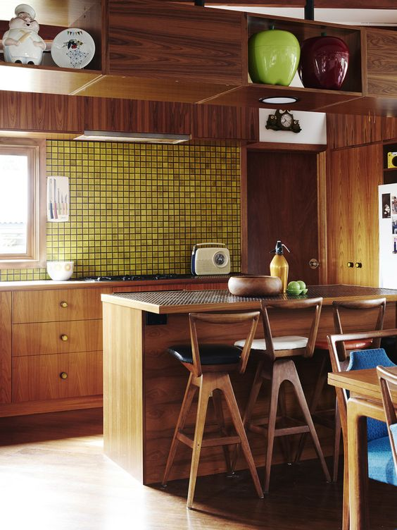 Picture Of stylish andatmospheric mid century modern kitchen designs  22