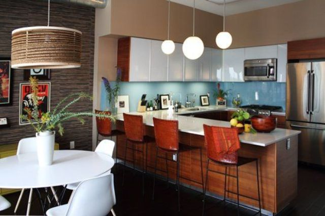 Picture Of stylish andatmospheric mid century modern kitchen designs  24