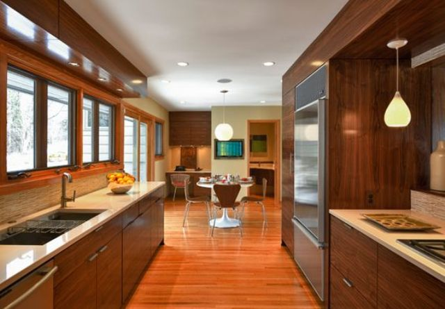 Picture Of stylish andatmospheric mid century modern kitchen designs  38