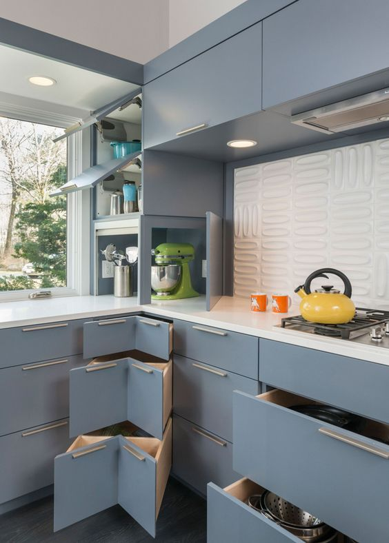 Picture Of stylish andatmospheric mid century modern kitchen designs  4