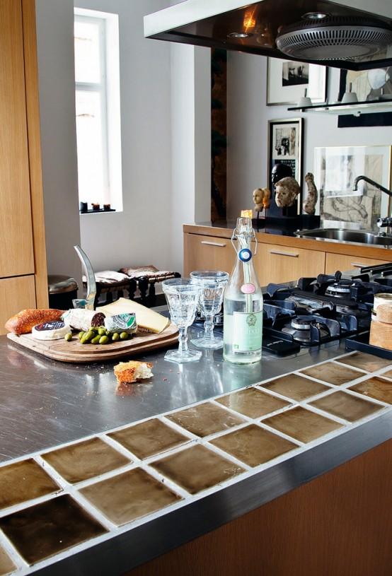 Stylish Apartment Interior In Copenhagen