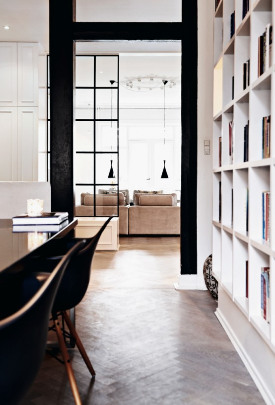 Stylish Apartment Interior In Copenhagen