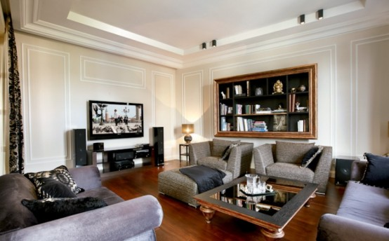 Stylish apartment with art deco interior for the just married digsdigs