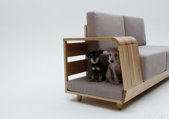 Stylish Be With Me Sofa With A Dog House