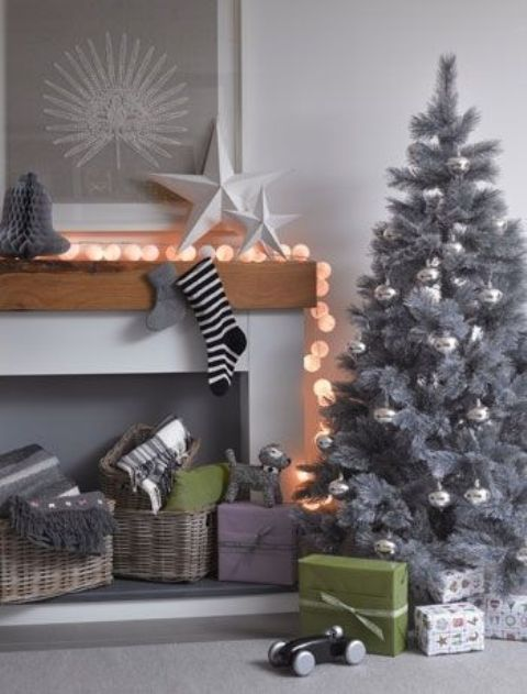 38 Stylish Christmas Décor Ideas In All Shades Of Grey