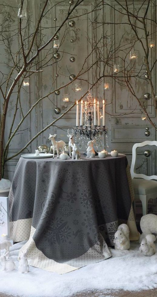 38 stylish christmas d cor ideas in all shades of grey