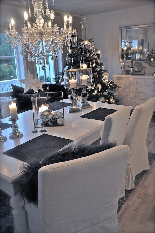 38 Stylish Christmas D 233 Cor Ideas In All Shades Of Grey