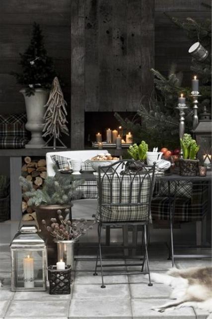 Stylish Christmas Decor Ideas In All Shades Of Grey