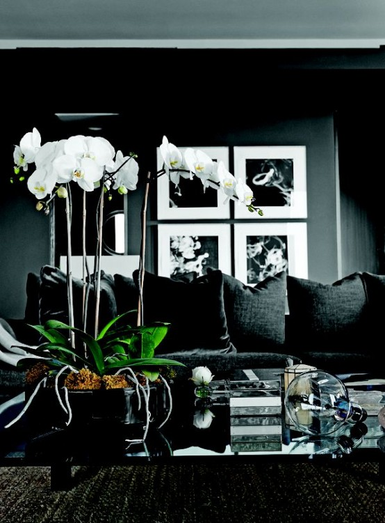 36 Stylish Dark Living Room Designs
