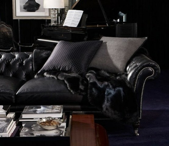 Impress Guests With 25 Stylish Modern Living Room Ideas: 36 Stylish Dark Living Room Designs