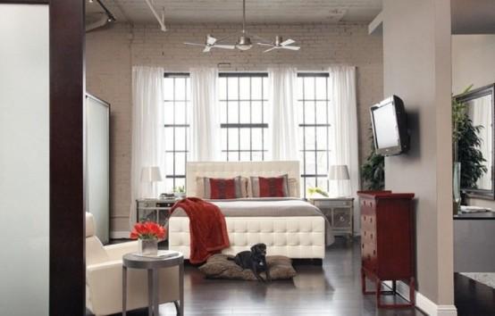 Stylish Dynamic Loft In Modern Style