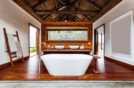 Stylish Fiji Retreat With Lots Of Natural Wood
