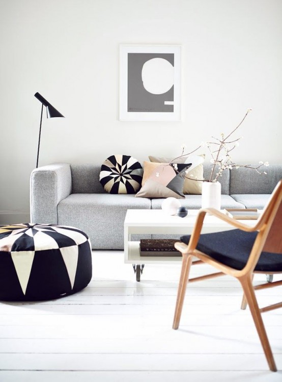 Stylish Geometric Decor Ideas For Your Living Room Part 39