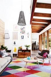 Stylish Geometric Decor Ideas For Your Living Room