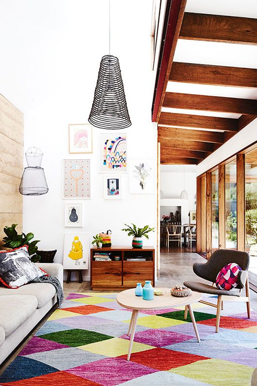Stylish Geometric Decor Ideas For Your Living Room Part 71