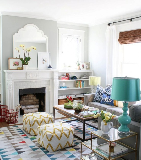 Stylish Geometric Decor Ideas For Your Living Room