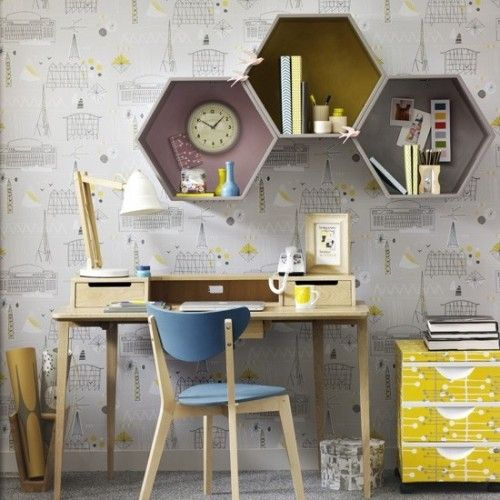 Stylish Geometric Home Office Decor Ideas. 27 Stylish Geometric Home Office D cor Ideas   DigsDigs
