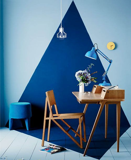 27 Stylish Geometric Home Office Décor Ideas