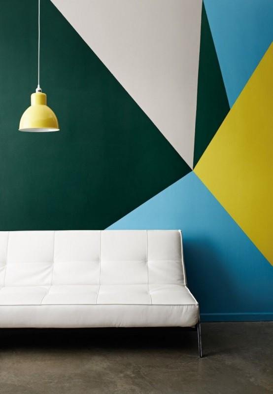Cool Stylish Geometric Wall Decor Ideas