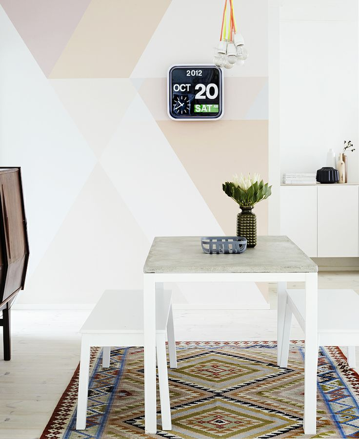 Stylish Geometric Wall Decor Ideas