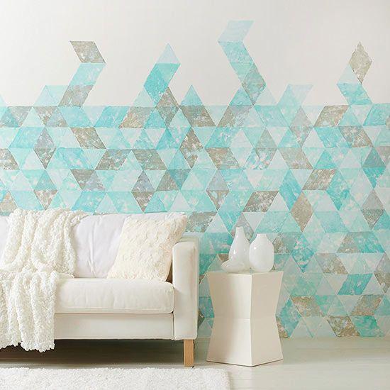 24 Stylish Geometric Wall D 233 Cor Ideas Digsdigs