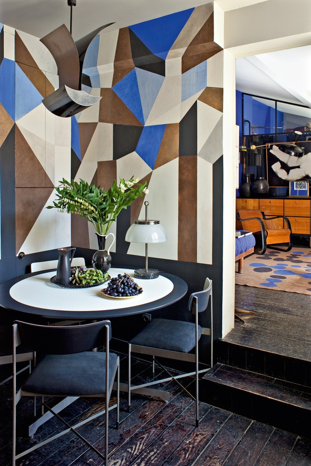 24 Stylish Geometric Wall D 233 Cor Ideas Digsdigs