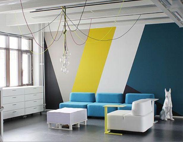 Stylish Geometric Wall Decor Ideas