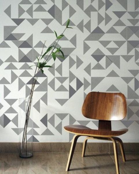 Unique Stylish Geometric Wall Decor Ideas