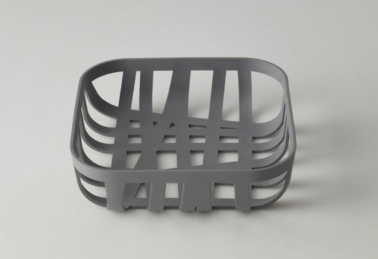 Stylish Gray Bread Basket