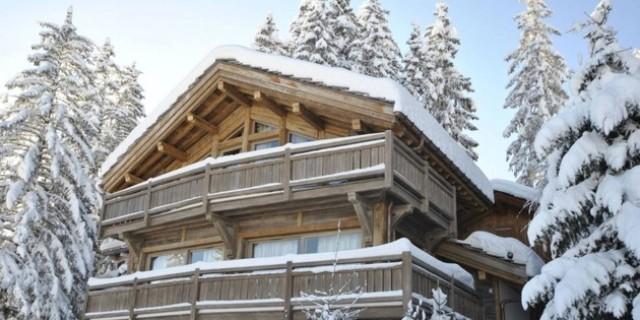 Stylish Hi Tech Ski Chalet In The French Alps